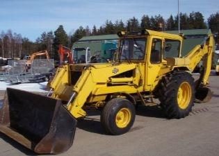 Traktorgrävare hymas 470