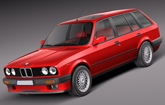 BMW / 300 srj. (E30) / Touring / -93