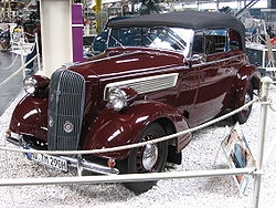OPEL / Super Six / 37-38