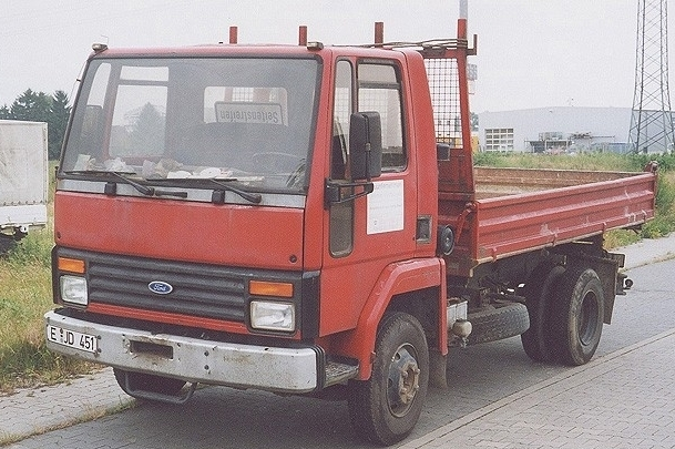 FORD / Cargo 0808, 0809, 0811, 0812, 0813 / 81-87