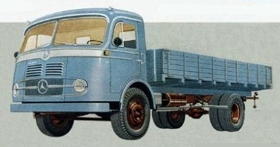 MERCEDES BENZ / 321 LP / -58